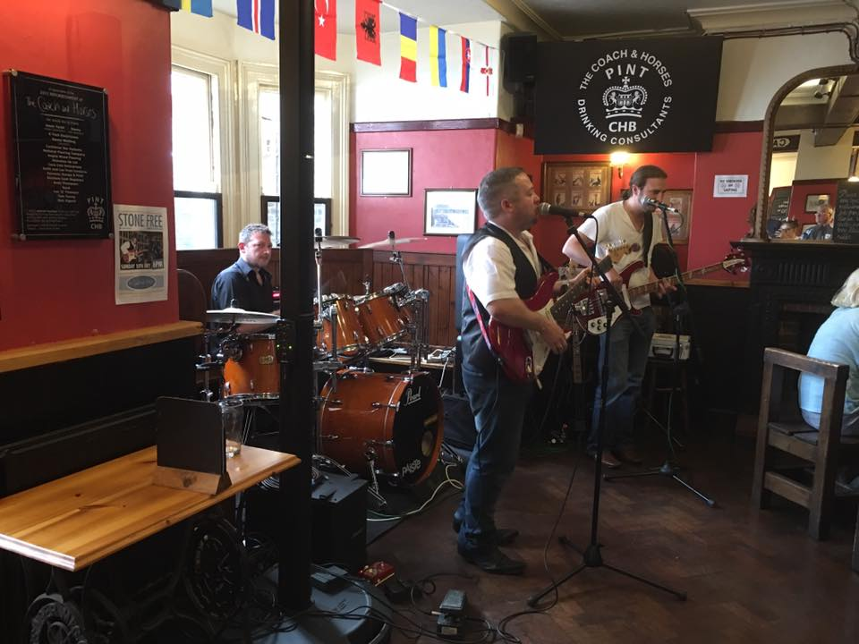 Stone Free at the Coach and Horses